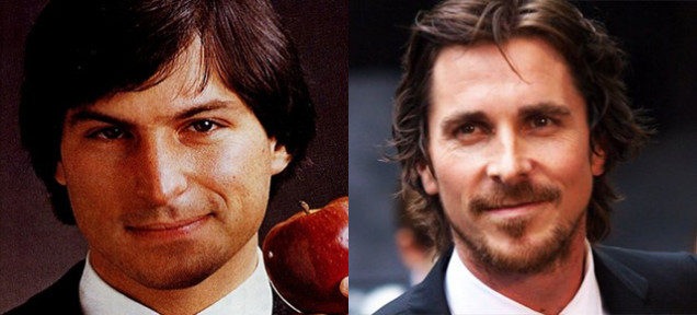 steve jobs and christian bale side by side