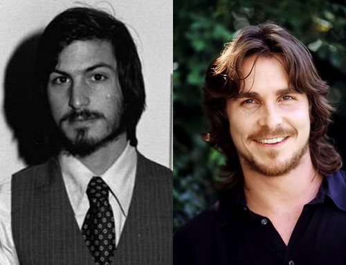 steve jobs and christian bale together